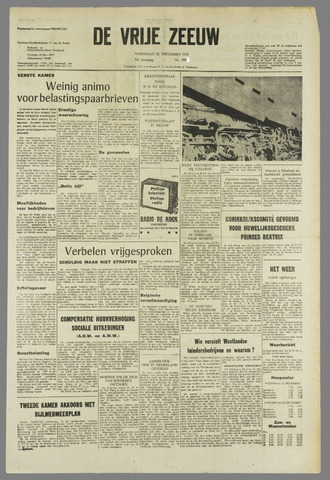 de Vrije Zeeuw 1965-12-22
