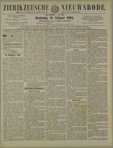Zierikzeesche Nieuwsbode 1904-02-18