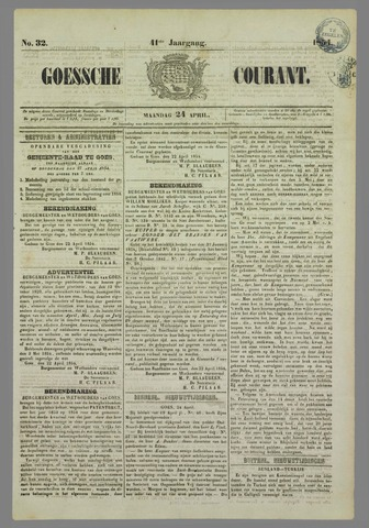 Goessche Courant 1854-04-24