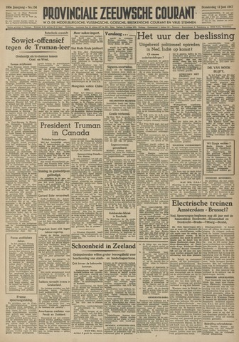 Provinciale Zeeuwse Courant 1947-06-12