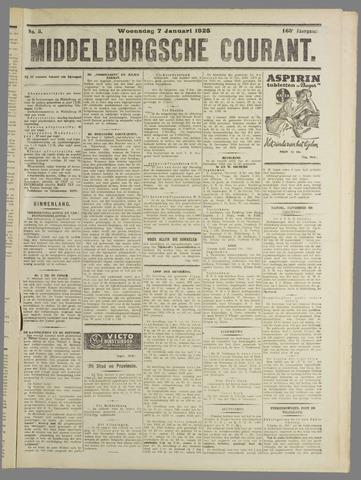 Middelburgsche Courant 1925-01-07