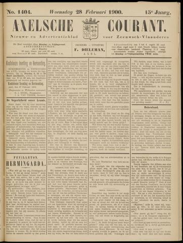Axelsche Courant 1900-02-28