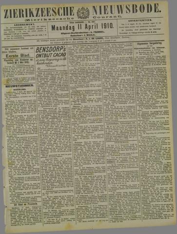Zierikzeesche Nieuwsbode 1910-04-11