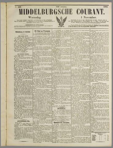 Middelburgsche Courant 1905-11-01
