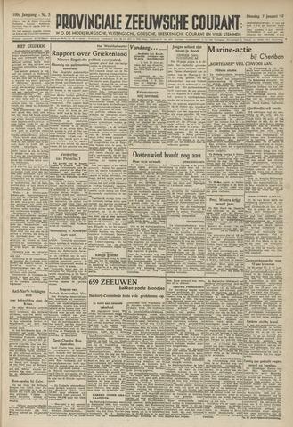 Provinciale Zeeuwse Courant 1947-01-07