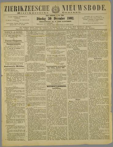 Zierikzeesche Nieuwsbode 1902-12-30
