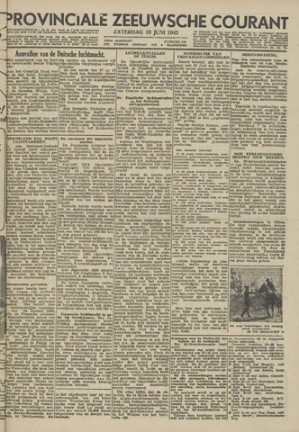Provinciale Zeeuwse Courant 1943-06-19