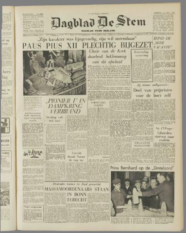 de Stem 1958-10-14