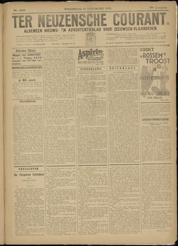 Ter Neuzensche Courant. Algemeen Nieuws- en Advertentieblad voor Zeeuwsch-Vlaanderen / Neuzensche Courant ... (idem) / (Algemeen) nieuws en advertentieblad voor Zeeuwsch-Vlaanderen 1930-12-24