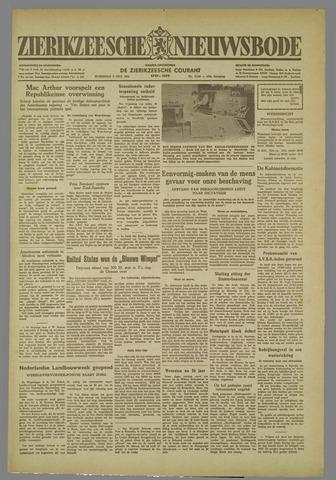 Zierikzeesche Nieuwsbode 1952-07-09