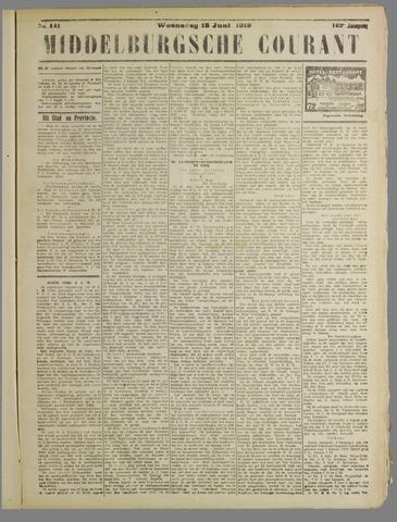 Middelburgsche Courant 1919-06-18