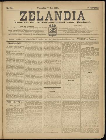 Zelandia. Nieuws-en advertentieblad voor Zeeland | edities: Het Land van Hulst en De Vier Ambachten 1902-05-07