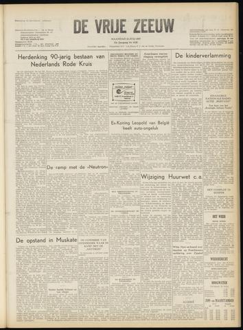 de Vrije Zeeuw 1957-07-22