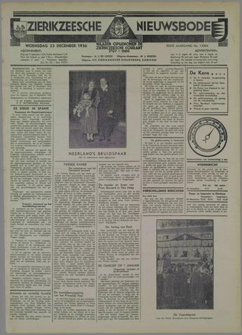 Zierikzeesche Nieuwsbode 1936-12-23