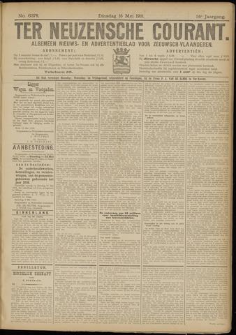 Ter Neuzensche Courant. Algemeen Nieuws- en Advertentieblad voor Zeeuwsch-Vlaanderen / Neuzensche Courant ... (idem) / (Algemeen) nieuws en advertentieblad voor Zeeuwsch-Vlaanderen 1916-05-16