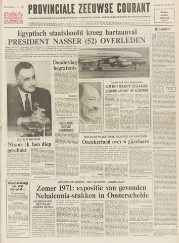 Provinciale Zeeuwse Courant 1970-09-29