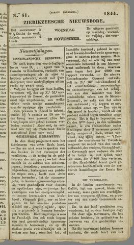 Zierikzeesche Nieuwsbode 1844-11-20