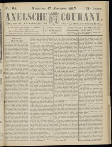 Axelsche Courant 1915-11-17