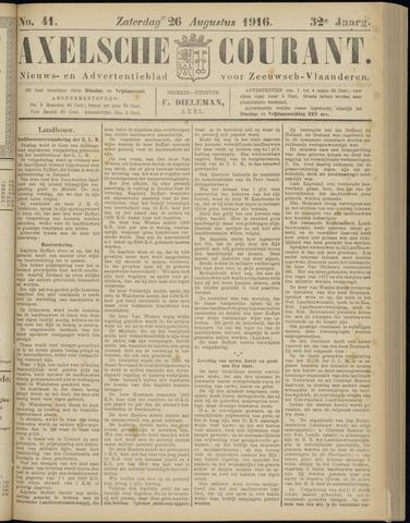 Axelsche Courant 1916-08-26