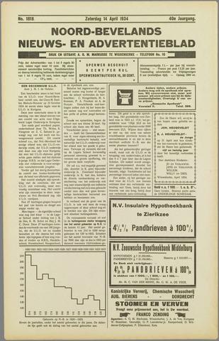 Noord-Bevelands Nieuws- en advertentieblad 1934-04-14