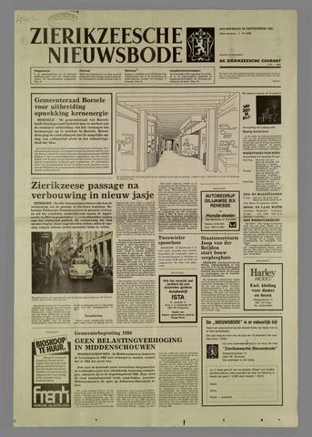Zierikzeesche Nieuwsbode 1985-09-26