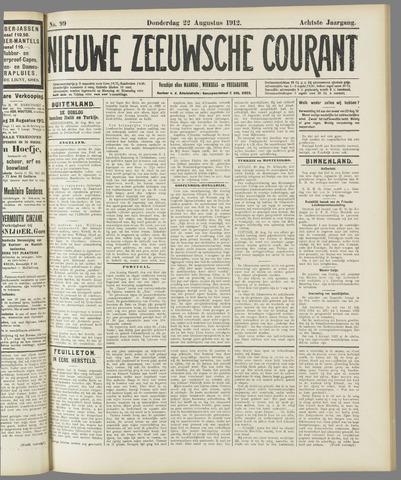 Nieuwe Zeeuwsche Courant 1912-08-22