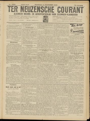 Ter Neuzensche Courant. Algemeen Nieuws- en Advertentieblad voor Zeeuwsch-Vlaanderen / Neuzensche Courant ... (idem) / (Algemeen) nieuws en advertentieblad voor Zeeuwsch-Vlaanderen 1939-11-13