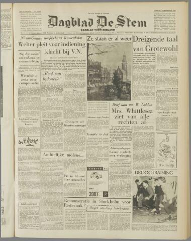 de Stem 1958-12-09