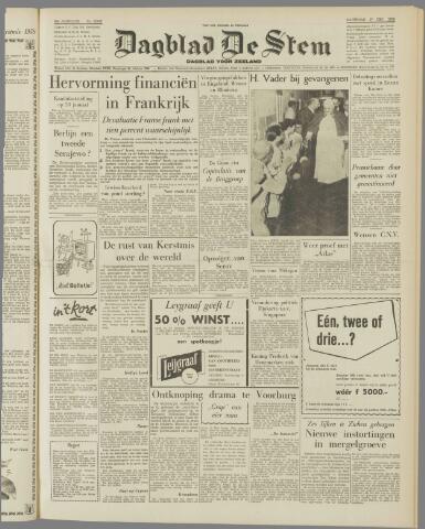 de Stem 1958-12-27