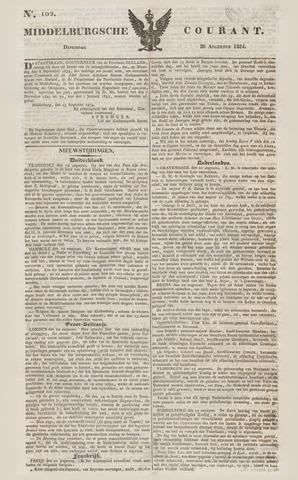 Middelburgsche Courant 1834-08-26