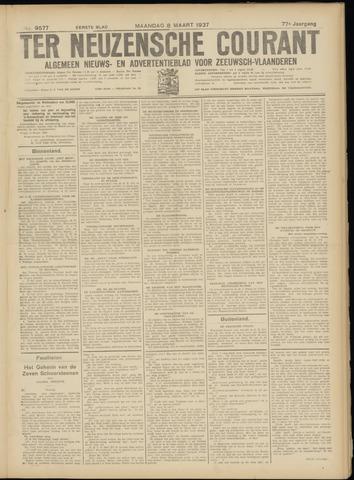 Ter Neuzensche Courant. Algemeen Nieuws- en Advertentieblad voor Zeeuwsch-Vlaanderen / Neuzensche Courant ... (idem) / (Algemeen) nieuws en advertentieblad voor Zeeuwsch-Vlaanderen 1937-03-08
