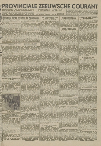 Provinciale Zeeuwse Courant 1943-04-21