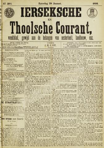Ierseksche en Thoolsche Courant 1893-01-28