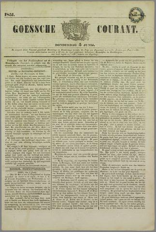 Goessche Courant 1851-06-05