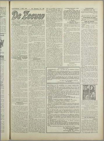De Zeeuw. Christelijk-historisch nieuwsblad voor Zeeland 1943-05-05