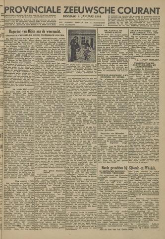 Provinciale Zeeuwse Courant 1944-01-04