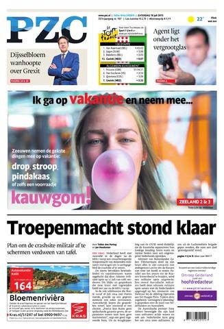 Provinciale Zeeuwse Courant 2015-07-18