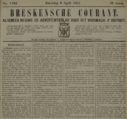 Breskensche Courant 1907-04-06