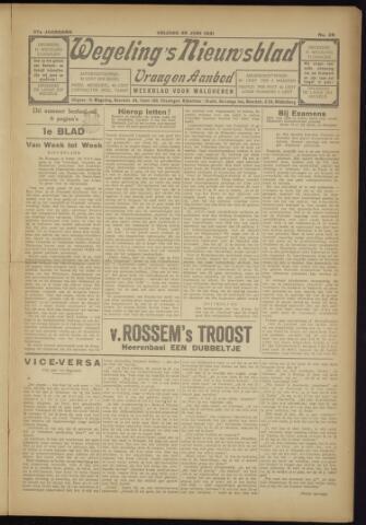 Zeeuwsch Nieuwsblad/Wegeling's Nieuwsblad 1931-06-26