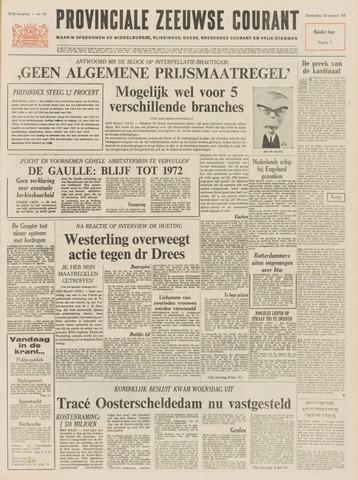 Provinciale Zeeuwse Courant 1969-01-23