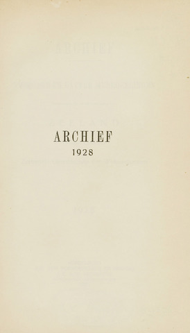 Archief 1928-01-01