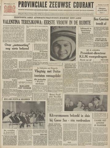 Provinciale Zeeuwse Courant 1963-06-17