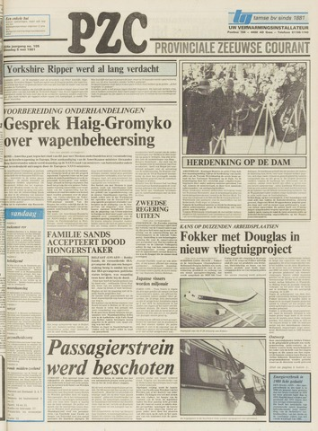 Provinciale Zeeuwse Courant 1981-05-05