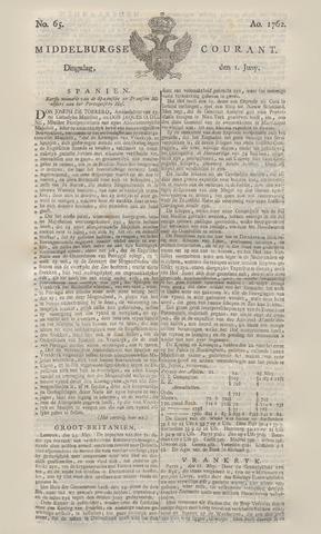 Middelburgsche Courant 1762-06-01