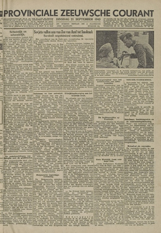 Provinciale Zeeuwse Courant 1943-09-21