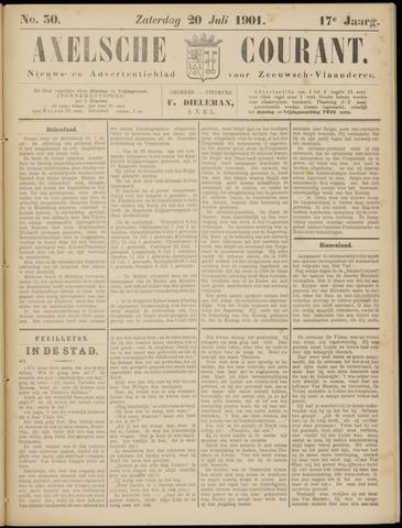 Axelsche Courant 1901-07-20