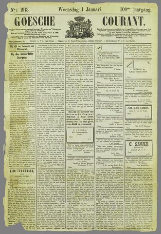 Goessche Courant 1913-01-01