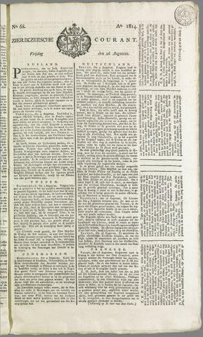 Zierikzeesche Courant 1814-08-26