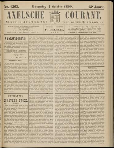 Axelsche Courant 1899-10-04