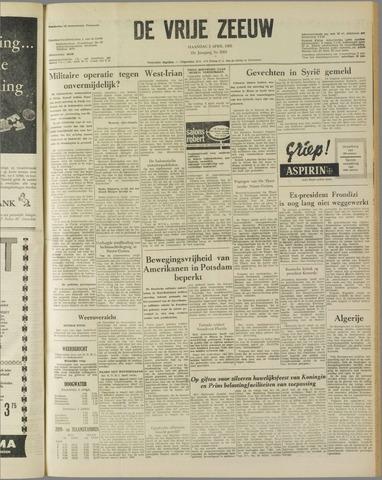 de Vrije Zeeuw 1962-04-02